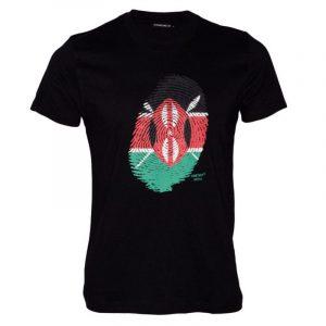 Kenya thumb print shirt
