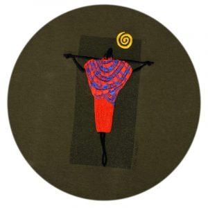Maasai Moran t-shirt (Olive)