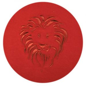 Lion Head t-shirt (Terra Cotta)