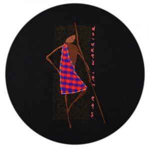 Maasai Warrior & Shuka (Black)