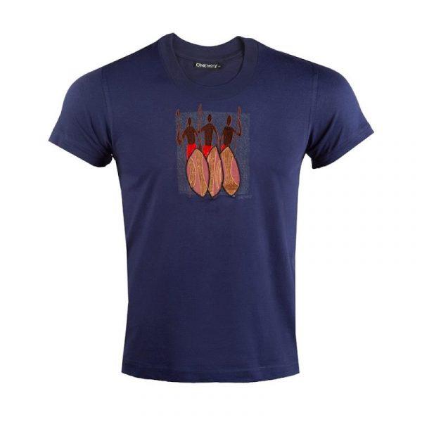 Three Maasai Warriors t-shirt