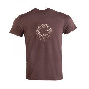 Lion Head t-shirt (Expresso))