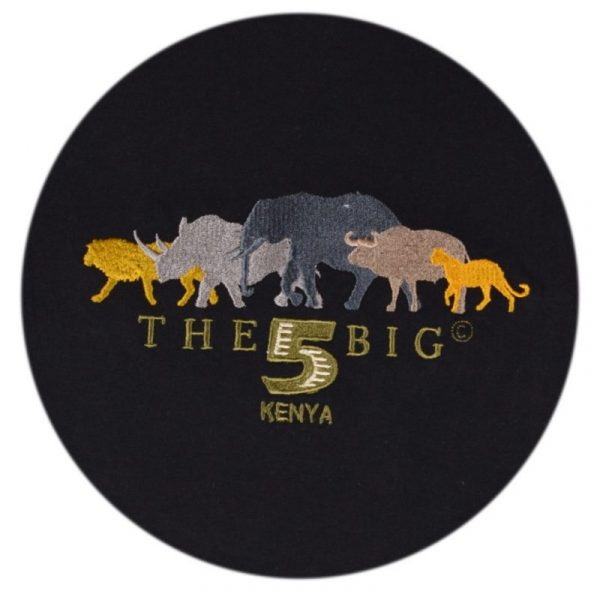 T-Shirt-Big-Five-Black