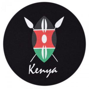 Kenya Shield t-shirt (Black)