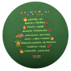 Kiswahili for you t-shirt kids (E.Green)