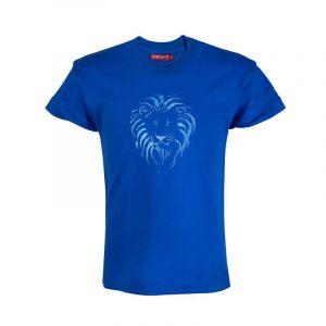 Lion Head t-shirt kids (E.Blue)