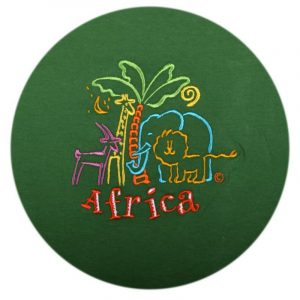 African Animals t-shirt kids (E.Green)