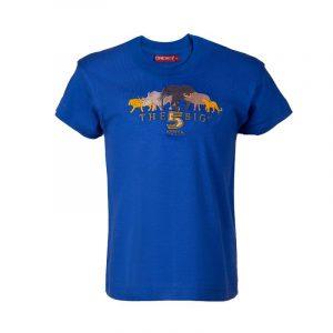 Big Five t-shirt kids (E.Blue)
