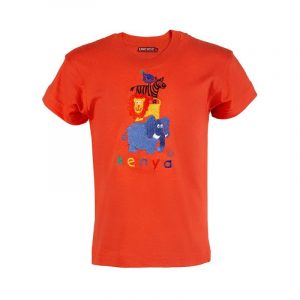 Four Friends t-shirt (Orange)