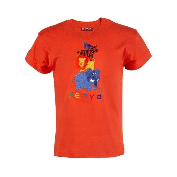 Four Friends t-shirt (Orange)