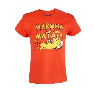Simba Mlevi t-shirt kids (Orange)